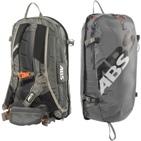 ABS s.LIGHT Compact Base Unit + s.LIGHT Compact Zip-On 15l Backpack rock grey
